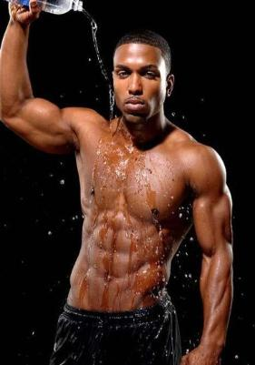 Dark Black Male Dancer Bachelorette Party Strippers